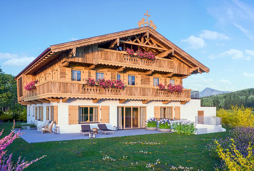 Das Bauernhaus Giglmairhof - Kirchberg in Tirol