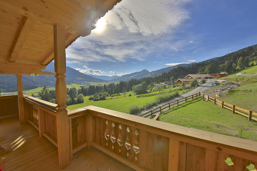 Tiroler Bauernhaus in Kirchberg bei Kitzbühel - Moser Hausbau GesmbH