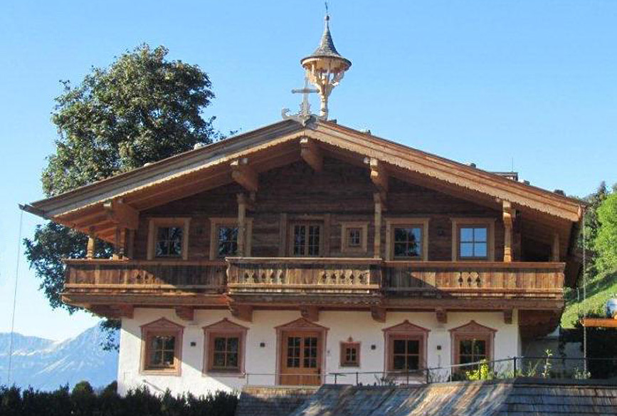 Tiroler Bauernhaus am Vorderen Sonnberg in Kitzbühel - Moser Hausbau GesmbH